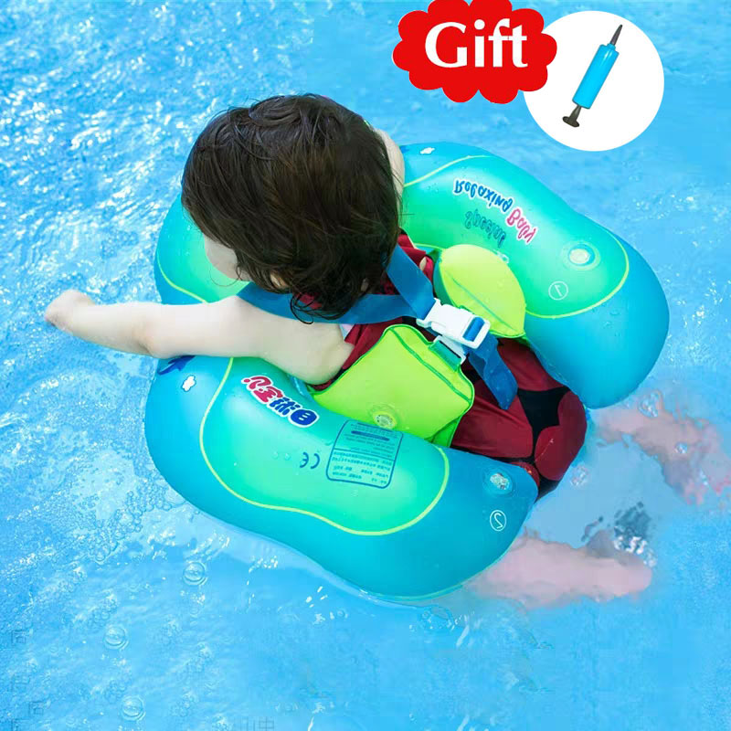 Baby Swimming Ring Baby Accessories Pool Inflatable Circle Swimming Buoy Children Float Safety Swimming Trainer For Newborns Toy
