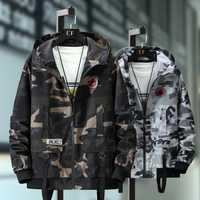 Plus Size 10XL 9XL 8XL 7XL Bomber Military Jacket Men Camouflage Casual Jacket Men Autumn Fashion Male Windbreaker Hooded Coat