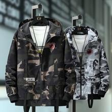 Plus size 10xl 9xl 8xl 7xl bombardeiro militar jaqueta masculina camuflagem jaqueta casual outono moda masculino blusão com capuz casaco