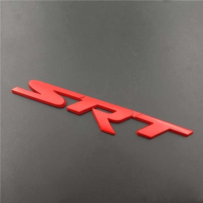Kim Loại Lưới Tản Nhiệt Trước Quốc Huy Dán Xe Tạo Kiểu SRT Logo Cho Xe Jeep Grand Cherokee Dodge Địa Ngục Cát SRT Challenger Sạc Cỡ Nòng