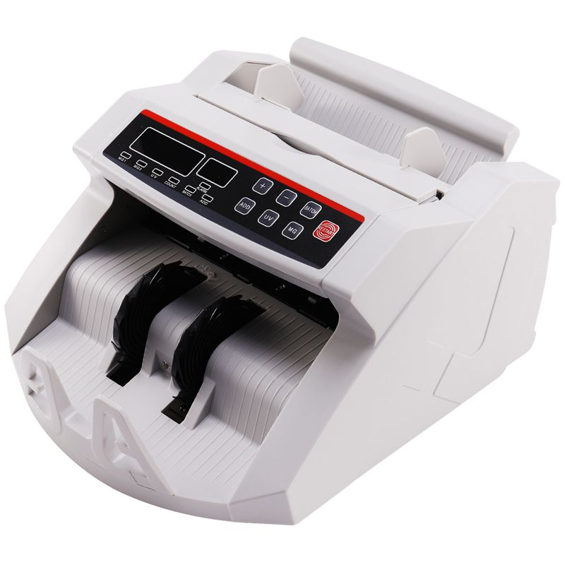 Cheap Money Counter for Paper & Polymer Currencies with UVMG Function Bill Note Counting Machine Money Detector EU Plug|Money Counter/Detector| |  - title=