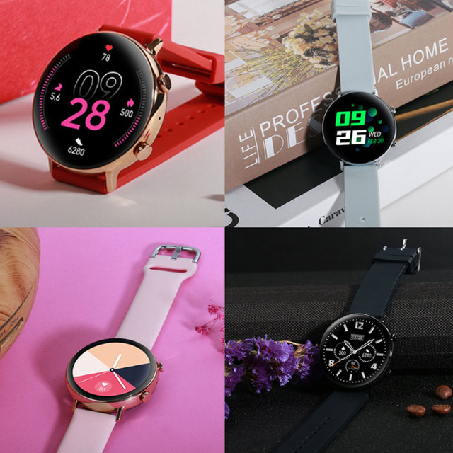 Smart Watch MT2502D Bluetooth V4.2 V3.0 Heart Rate Sports Watch IP68 Waterproof Rechargeable Smartwatch for Android iOS 5