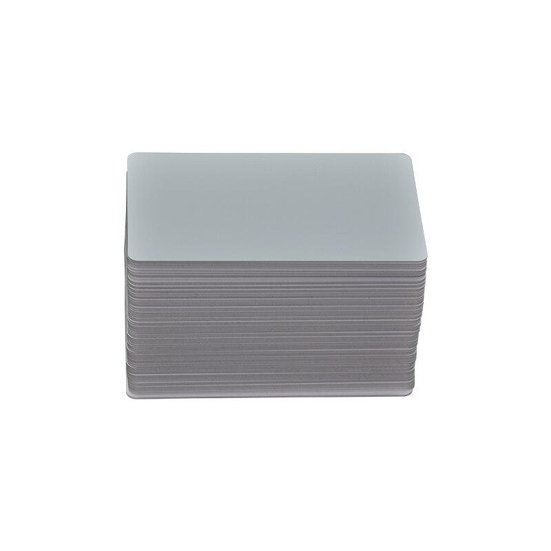 100 шт. TK4100/FM08 125 кГц бесконтактные карты RFID ID карты доступа двери 0,85 мм, RFID карты доступа. Тонкий/Белый