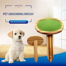 Dog Cat Needle Comb Pets Open Knot Comb Brush Dog Hair Remover Rake Comb Pet Beauty Grooming Tool for Teddy Medium Large Dogs pet dog cat hair deshedding comb cleaning massage handle needle comb brush pet grooming tool for short medium hair pets supplies