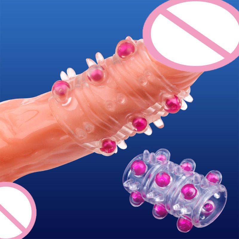 Silicone Penis Ring For Male Longer Stronger Erection Enlarger Adult Sex Toy