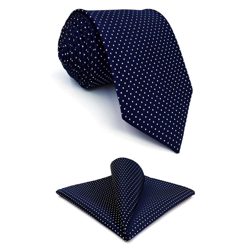 Black Red White Purple Wedding Stripe Plaid Dots Necktie Silk Men Tie