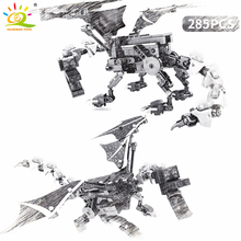 285PCS Enderdragon Building Blocks Legoing Minecrafted Steve Figures Technic My World Defeat Dragon Bricks Toys For Children 900pcs my world molcard village dragon figures building blocks compatible legoed minecrafted city bricks enlighten children toys