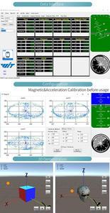 Image 5 - WitMotion WTGAHRS1 10 eksenli GPS navigasyon pozisyon hız izci sensörü ivmeölçer + Gyro + açı + manyetometre + barometre
