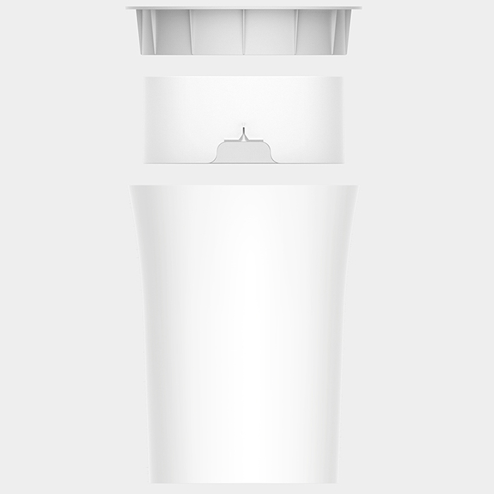 10L Xiaomi Youpin Trash Can with Pressure Ring Storage Bucket Waste Bins Rubbish Box Office Storage for Home in Screwdriver from Tools