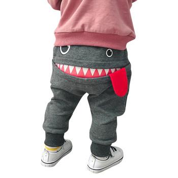 Spodnie dla niemowląt zimowe kreskówki język zwierząt Harem dziewczynek spodnie dla chłopca ciepłe dorywczo długie spodnie dzieci dzieci Pantolon 19Oct tanie i dobre opinie ARLONEET Cartoon baby REGULAR Children s Clothing Pełnej długości Unisex COTTON Poliester Na co dzień Pasuje prawda na wymiar weź swój normalny rozmiar