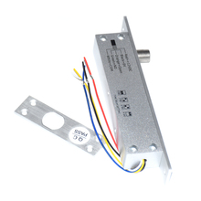 fail safe fail secure Electric Bolt Drop Door Lock Low Temperature Time Delay For Access Control System Electric Door Lock