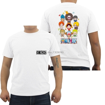 One Piece T-shirt Anime Zoro Luffy Shirt Ace Whitebeard Monkey D Luffy T Shirt Men's Cotton Short Sleeve Tees Tops Hip Hop