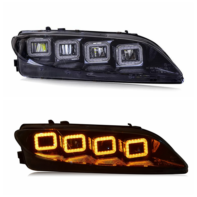 Vland fctory for car headlight for <font><b>Mazda</b></font> <font><b>6</b></font> <font><b>LED</b></font> head lamp 2006 <font><b>2010</b></font> 2013 with turn signal with sequential indicator image