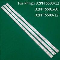 Iluminación LED para Philips 32PFT5500/12 32PFT5501/60 32PFT5509/12 barra LED de luz de fondo tira de luz de línea GJ-2K15 D2P5 D307-V1 V1.1