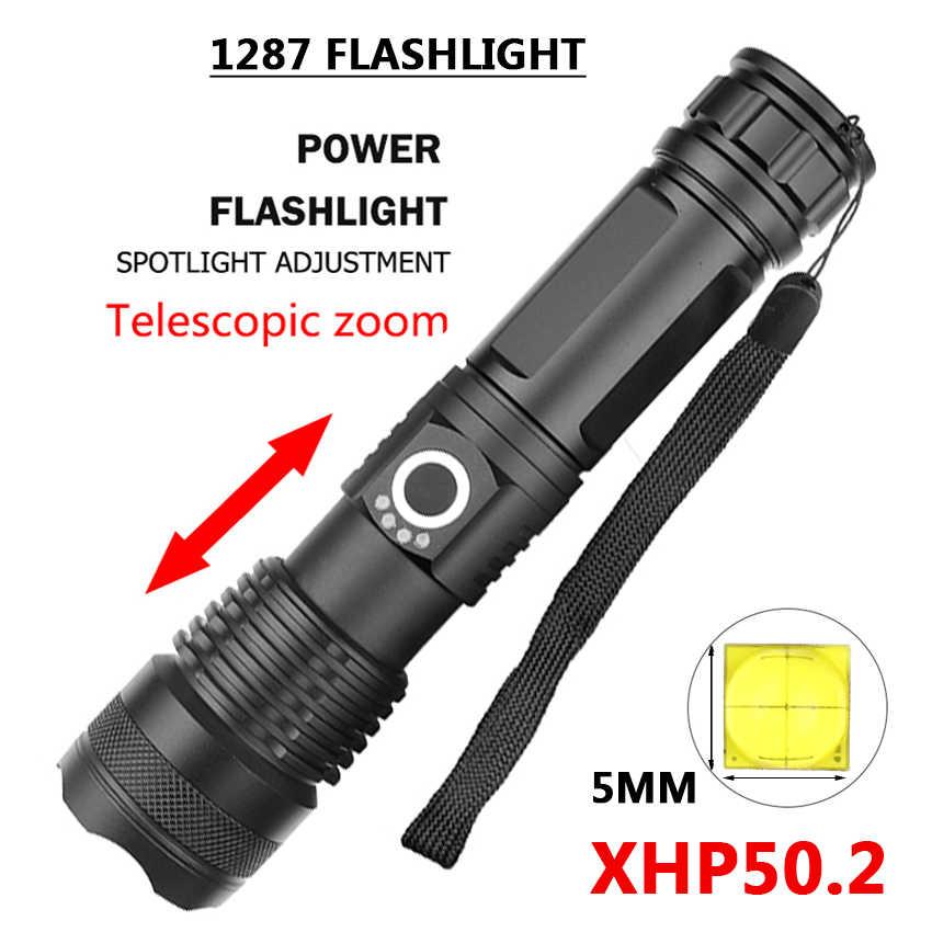 XHP90 Z901909 самый мощный светодиодный фонарик, мощный 26650 или 18650 аккумулятор и xhp70.2 тактический фонарь