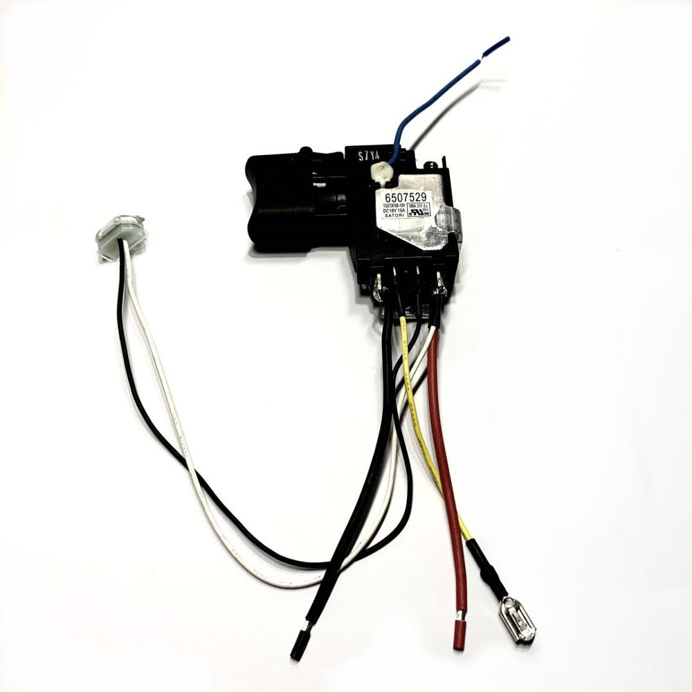 Switch Trigger For Makita DTD152 New Spare Part Switch 632F26-6 18V Cordless Impact Driver 650752-9 6507529