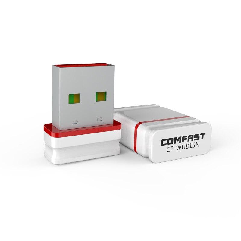 10pcs Stock! USB 2.0 WiFi Wireless Network Card 150Mbps 802.11 b/g/n LAN Adapter Antenna for Laptop PC Mini Wi-fi Dongle