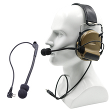 Headphone accessories military microphone for Comtac noise canceling headphones outdoor sports high-pitched high-quality tools