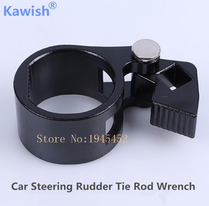Kawish Car Steering Rudder Tie Rod Wrench Rudder Ball Joint Removal Wrench,Universal Steering Track Rod Removal Hand Tool