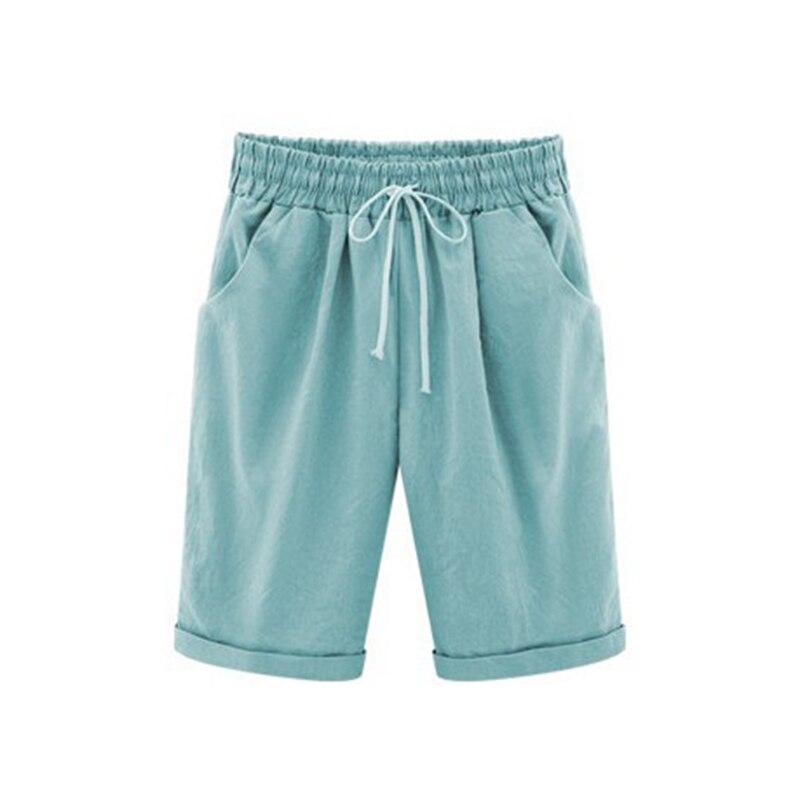Hot Summer Women Shorts Lace Up Comfortable Elastic Waistband Loose Casual Panties CGU 88