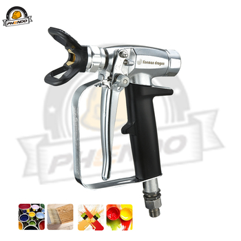 цена на PHENDO 4350PSI Professional Airless Spray Gun 4 figner Paint Putty Spray Gun For Wagner Titan Pump High Pressure Airless Sprayer