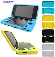 UEHSDAY-funda de silicona para Nintendo, cubierta protectora para Nintendo 2DS XL, color azul