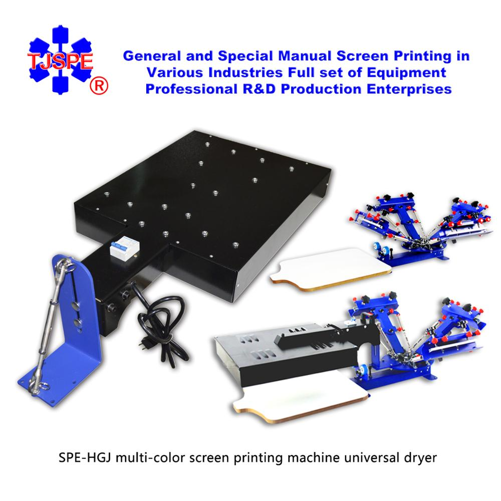 SPEHGJ Multi-color Screen Printing Machine Unversal Dryer Screen Printing Equipment