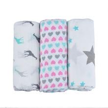 Langette en coton bambou bio pour bébé, enveloppe en mousseline pour décharge, pour nouveau né
