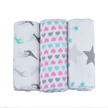 Manta de muselina orgánica para bebé, Manta de algodón de bambú para bebé, sobre para descarga de recién nacidos, ropa de cama envolvente
