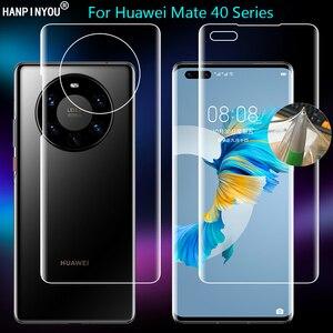 Для Huawei Mate 40 Mate40 Pro Plus RS Porsche прозрачная ТПУ/матовая Гидрогелевая полная защитная пленка для экрана с защитой от отпечатков пальцев