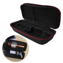Microphone Storage Box Protective Bag Carrying Case Pouch Shockproof Travel Portable for ws858 S19 19 Dropship(China)