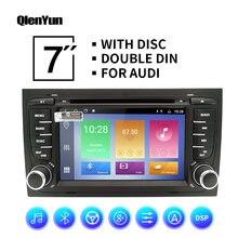 Автомагнитола qlenyun 2 din android 9 для audi/a4/s4 2002 2008