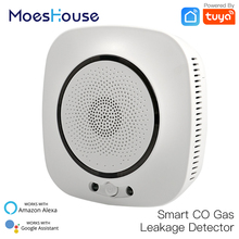 WiFi Smart CO Gas Sensor Carbon Monoxide Leakage Fire Security Detector Life Tuya App Control Home System