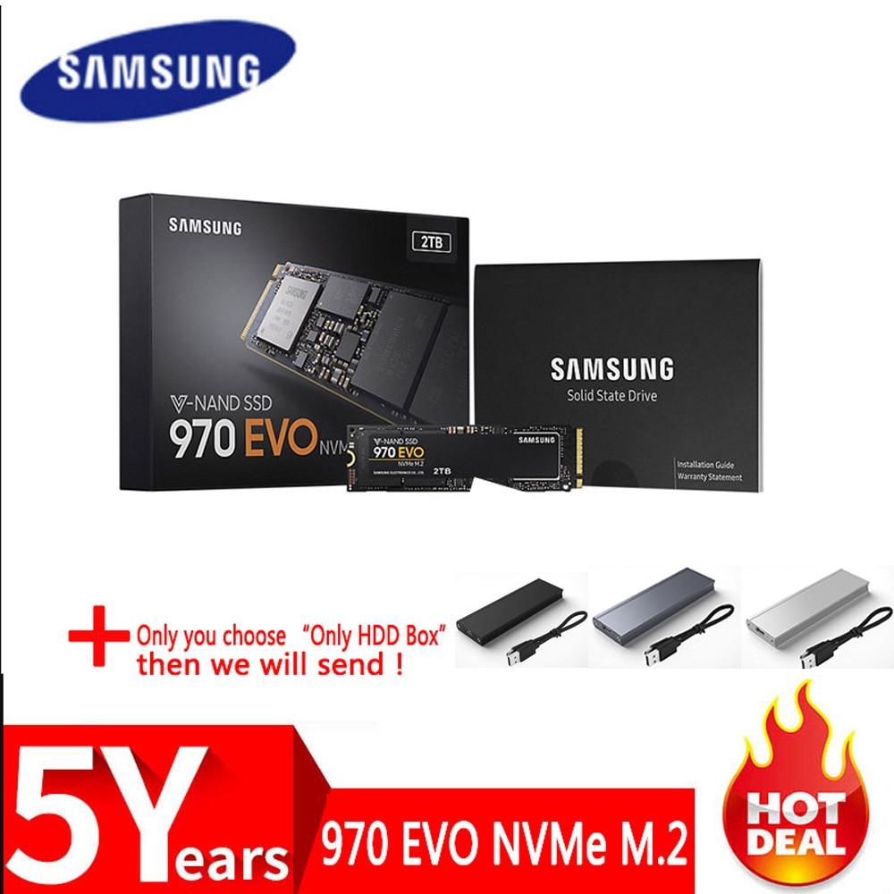 SSD SAMSUNG M.2 SSD M2 1 TB 500G 250G HD NVMe SSD Festplatte HDD Festplatte 1 TB 970 EVO Solid State PCIe für Laptop Computer