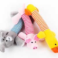 Nette Kauen Spielzeug Hund Katze Pet Leinwand Plüsch Haltbarkeit Stimmgebung Puppen Biss Squeaker Quietschende Spielzeug Für Hunde Werkzeuge Kinder Katzen