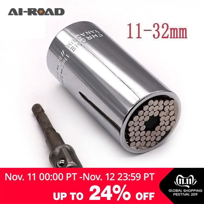 Big Universal Socket Sleeve 11-32mm 1/2