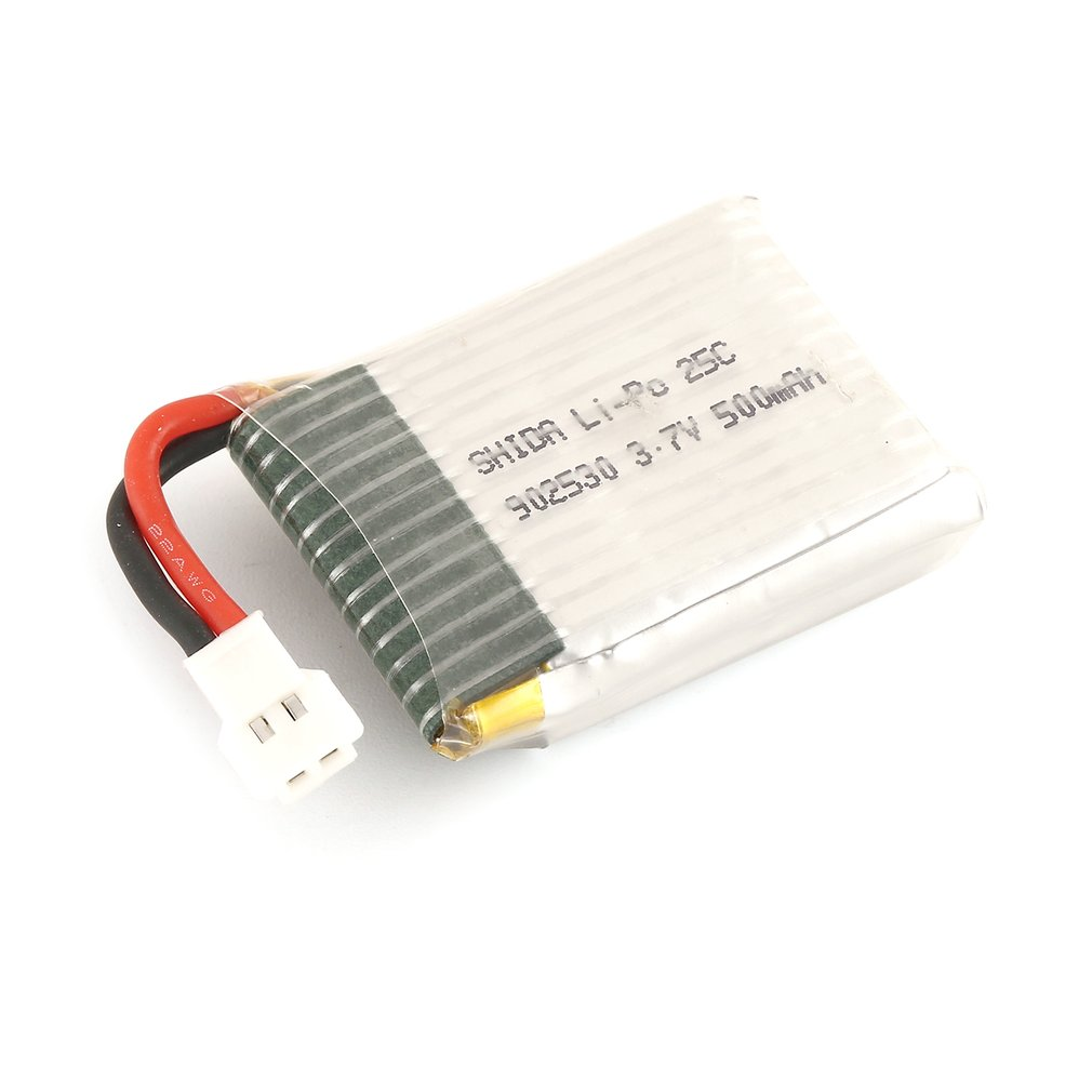 1S <font><b>3.7V</b></font> <font><b>500mAh</b></font> Li-po Rechargeable <font><b>Battery</b></font> for Wltoys F949 RC Fixed Wing Airplane <font><b>Drone</b></font> UAV Spare Part Accessories HOT! image