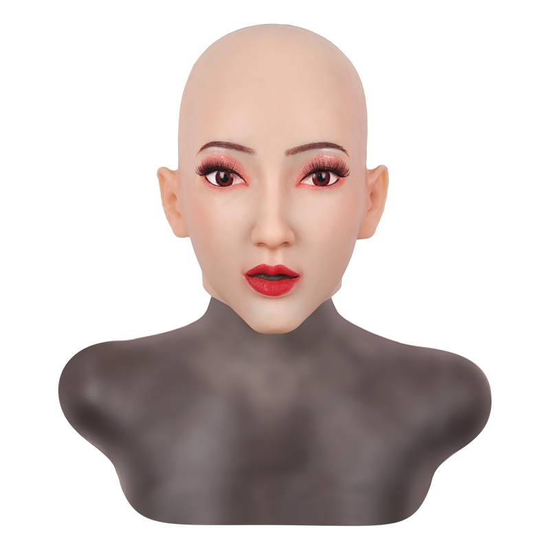 Kristen Face Mask Realistic Soft Silicone Female Mask for Masquerade Halloween Mask For Crossdresser Drag Queen Transgender 3G  - buy with discount