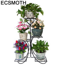 Dekarosyon Rek Planten Standaard Varanda Outdoor Decoration Balkon Salincagi Balcony Balcon Shelf Plant Stand Flower Iron Rack(China)