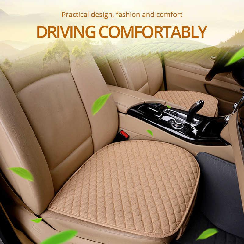 Чехлы AUTOYOUTH для автомобильных сидений, передние/задние/полные комплекты, выберите автомобильный льняной чехол для сиденья, тканевые автомобильные аксессуары, универсальный размер, противоскользящие