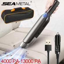 Aspirateur de voiture sans fil, à forte aspiration 13000PA, pour usage intérieur de maison et véhicule, appareil photo 5000PA
