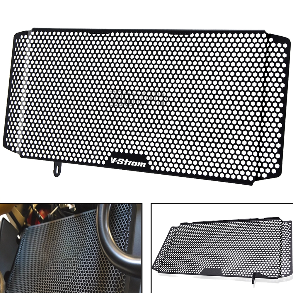 Motorcycle <font><b>V</b></font> <font><b>STROM</b></font> Radiator Grille Guard Protector Grill Cover Protection For Suzuki <font><b>V</b></font>-<font><b>Strom</b></font> <font><b>1000</b></font> GTA XT 1000X GTA Vstrom1000 image