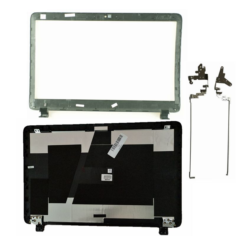 New For HP ProBook 450 G2 455 G2 LCD Back Cover Top Case Rear Lid 768123-001 AP15A000100 Black/hinge