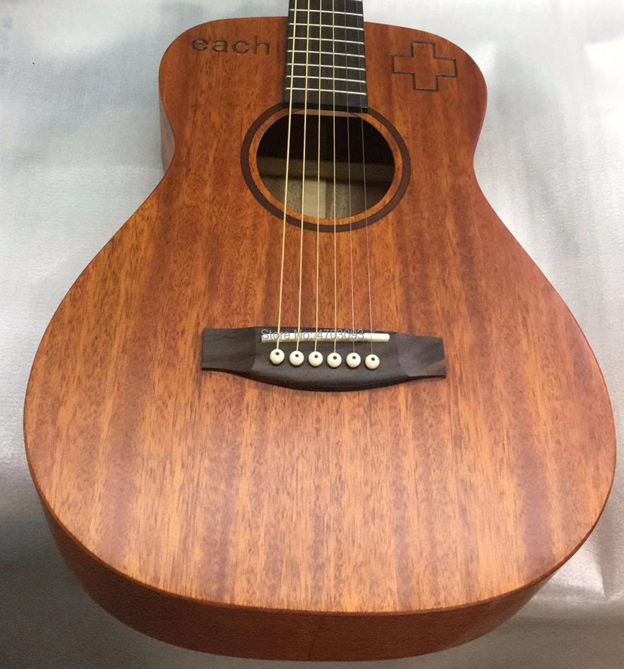 IN STOCK ,34 inch KSG baby guitar mini traveling acoustic