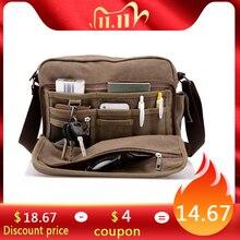 Scione sac à bandoulière multifonction en toile solide, sac à bandoulière multifonction pour hommes et femmes, sac de voyage en plein air de bureau