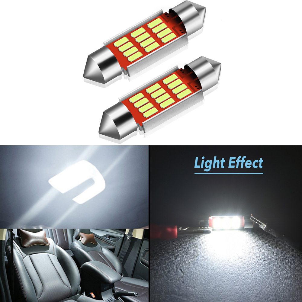 2pcs C5W Led Canbus 36mm Festoon Led Bulb Error Free Bulb For VW Passat B5 B6 B7 <font><b>CC</b></font> Golf 4 5 6 7 GTI Beetle Polo Jetta MK6 Light image