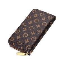2020 New Women Long Wallets Zipper Wallet Womans Brand PU Leather Card Holder Money Cash Purses Pockets Day Clutch