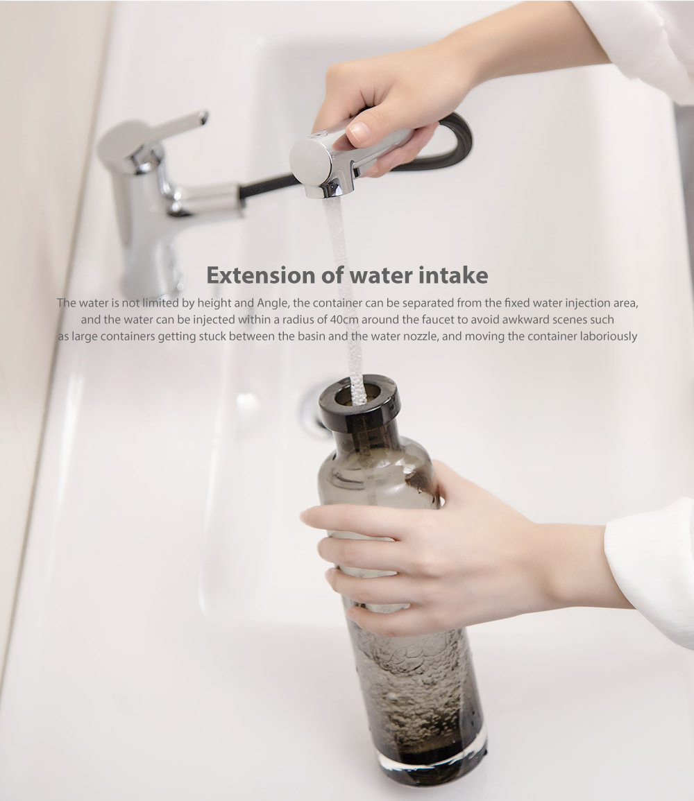 Xiaomi Diiib Bathroom Basin Sink Faucet Pull Rinser Sprayer Gargle Brushing Tap Kitchen Faucet Free Rotation Handle Mixer Tap Personal Care Appliance Accessories Aliexpress