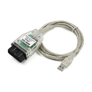 Image 2 - Nuovo Mini VCI V15.00.028 per TOYOTA Car OBD2 cavo diagnostico Mini VCI J2534 con Chip FTDI TIS Techstream Auto cavi connettori