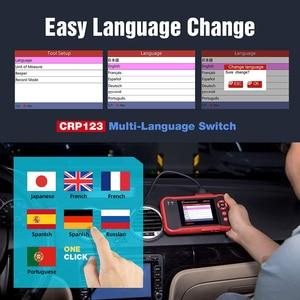 Image 5 - LAUNCH CRP123 obd2 OBDII code reader scanner Engine ABS Airbag Transmission car diagnostic tool Multilingual free update online